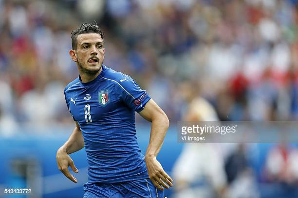 Alessandro Florenzi of Italy during the UEFA Euro 2016 round of 16 match between Italy and Spain on June 27 2016 at the Stade de France in Paris...