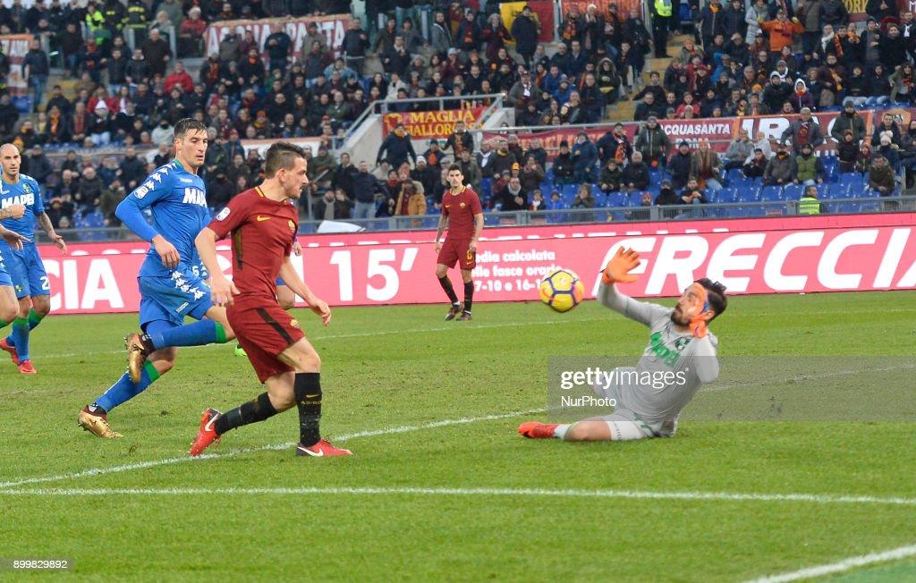 AS Roma v US Sassuolo - Serie A : News Photo