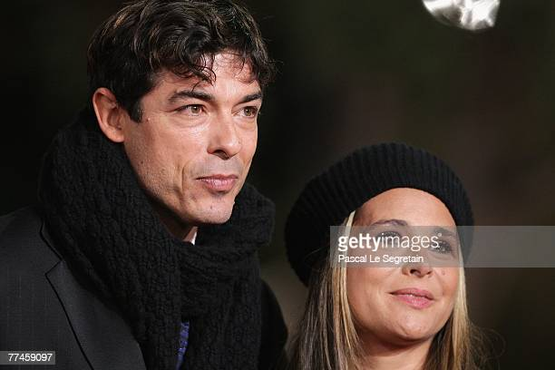 Alessandro Gassman and Sabrina Knaflitz attend the premiere for Un Principe Chiamato Toto during day 6 of the 2nd Rome Film Festival on October 23...