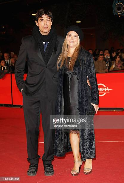 Alessandro Gassman and Sabrina Knaflitz attend the 'Un Principe Chiamato Toto' premiere during Day 6 of the 2nd Rome Film Festival on October 23 2007...
