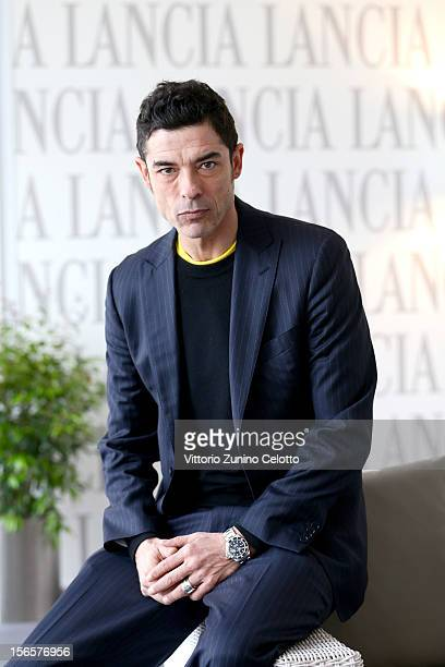 Alessandro Gassman attends the 7th Rome Film Festival at Lancia Cafe on November 17 2012 in Rome Italy