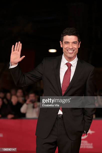 Alessandro Gassman attends the Closing Ceremony during the 7th Rome Film Festival at Auditorium Parco Della Musica on November 17 2012 in Rome Italy