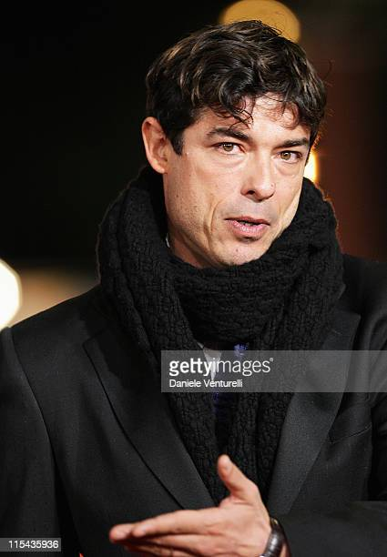 Alessandro Gassman attends the premiere for Un Principe Chiamato Toto during day 6 of the 2nd Rome Film Festival on October 23 2007 in Rome Italy
