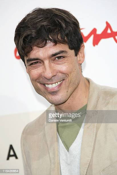 Alessandro Gassman attends the 'Un Principe Chiamato Toto' photocall during Day 6 of the 2nd Rome Film Festival on October 23 2007 in Rome Italy