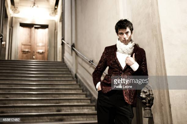 Alessandro Gassman is photographed for L'Uomo Vogue in Rome Italy