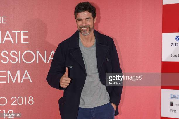 Alessandro Gassmann attends a photocall during the 41th Giornate Professionali del Cinema Sorrento Italy on 5 December 2018