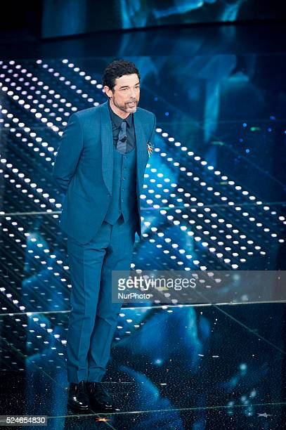 Alessandro Gassmann attends the 66th Sanremo Music Festival on February 12 2016
