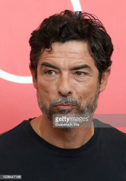 Alessandro Gassmann attends 'Una Storia Senza Nome' photocall during the 75th Venice Film Festival at Sala Casino on September 7 2018 in Venice Italy