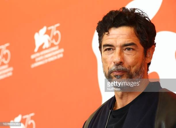 Alessandro Gassmann attends 'Una Storia Senza Nome' photocall during the 75th Venice Film Festival on September 7 2018 in Venice Italy