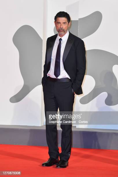 "Alessandro Gassmann walks the red carpet ahead of the movie ""Pieces of a woman"" at the 77th Venice Film Festival on September 05, 2020 in Venice,..."