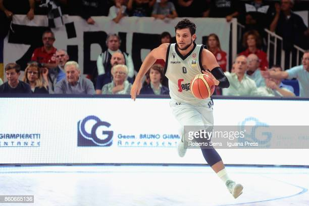 Alessandro Gentile of Segafredo in action during the LBA LegaBasket match between Virtus Segafredo Bologna and Aquila Dolomiti Energia Trento at...