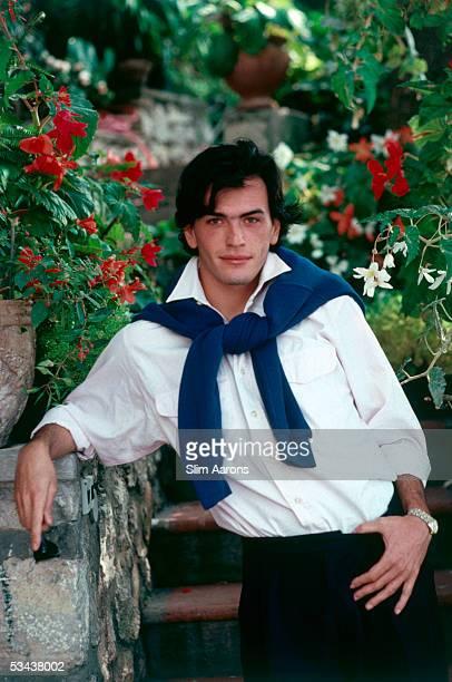 Alessandro Gentili on Capri 1989