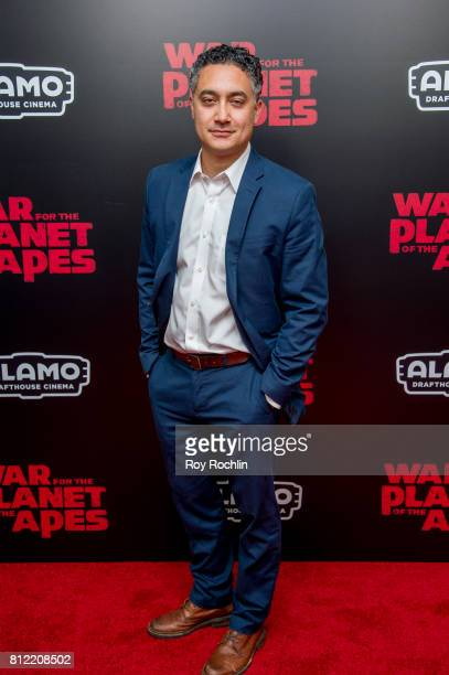 Alessandro Juliani attends 'War For The Planet Of The Apes' New York Premiere at SVA Theater on July 10 2017 in New York City