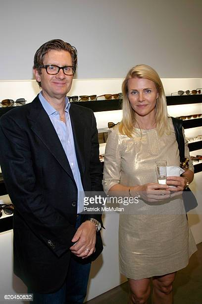 Alessandro Lanaro and Nina Junot attend MODO Opens First Global Flagship Store at MODO Downtown Store on June 5 2008 in New York City