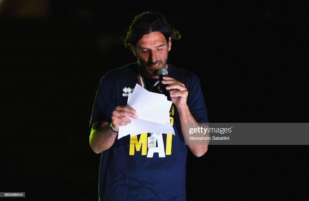 Parma Calcio Celebrates The Return To Serie A : News Photo