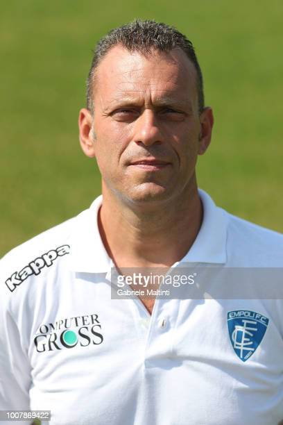 Alessandro Maggini physiotherapist of Empoli FC U17 on July 30 2018 in Empoli Italy
