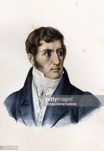 Alessandro Manzoni Italian writer, poet and playwright, senator of the Kingdom of Italy, with the historical novel 'I Promessi Sposi' constituted the...
