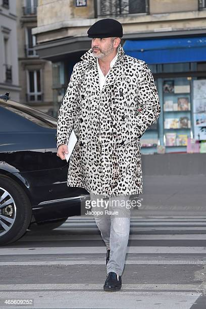 Alessandro Maria Ferreri arrives at Givenchy Fashon Show during Paris Fashion Week Fall Winter 2015/2016 on March 8 2015 in Paris France