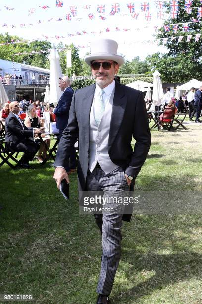Alessandro Maria Ferreri arrives at the Royal Enclosure on Day 3 during Royal Ascot on June 21 2018 in Ascot England