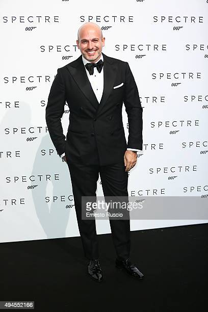 Alessandro Maria Ferreri attends a red carpet for 'Spectre' at Auditorium Della Conciliazione on October 27 2015 in Rome Italy