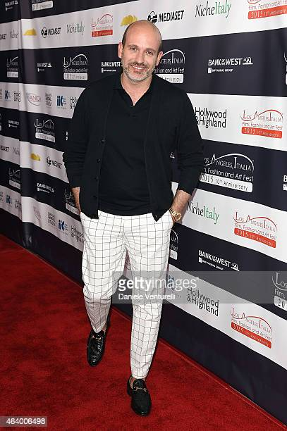 Alessandro Maria Ferreri attends Los Angeles Italia Closing Night Ceremony at TCL Chinese 6 Theatres on February 20 2015 in Hollywood California