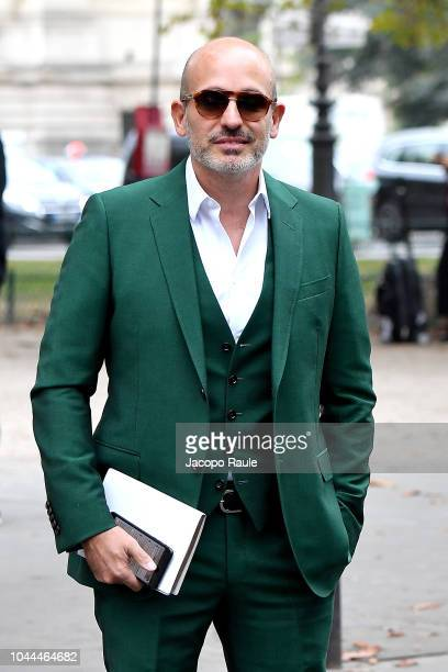 Alessandro Maria Ferreri attends the Chanel show as part of the Paris Fashion Week Womenswear Spring/Summer 2019 on October 2 2018 in Paris France