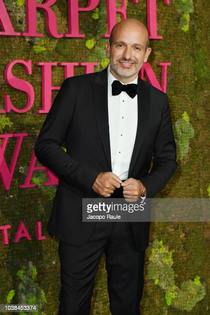 Alessandro Maria Ferreri attends the Green Carpet Fashion Awards at Teatro Alla Scala on September 23 2018 in Milan Italy