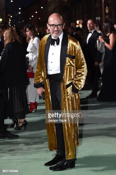 Alessandro Maria Ferreri attends the Green Carpet Fashion Awards Italia 2017 during Milan Fashion Week Spring/Summer 2018 on September 24 2017 in...
