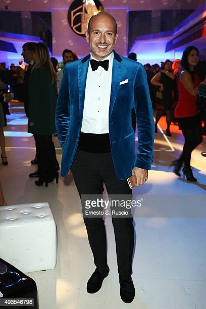 Alessandro Maria Ferreri attends the JTI party during the 10th Rome Film Fest on October 20 2015 in Rome Italy