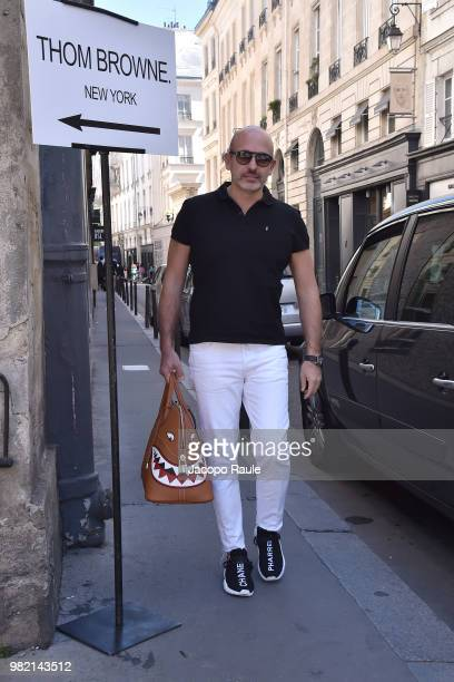Alessandro Maria Ferreri attends the Thom Browne Menswear Spring/Summer 2019 show as part of Paris Fashion Week on June 23 2018 in Paris France