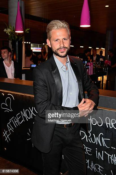 Alessandro Marras attends the Moxy Berlin Hotel Opening Party on October 20, 2016 in Berlin, Germany.