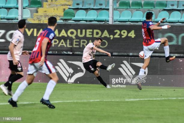 Alessandro Martinelli during the serie D match between SSD Palermo and ASD Troina at Stadio Renzo Barbera on December 22, 2019 in Palermo, Italy.