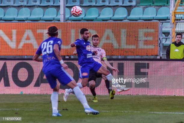 Alessandro Martinelli during the serie D match between SSD Palermo and Marsala at Stadio Renzo Barbera on January 05 2020 in Palermo Italy