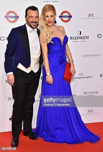Alessandro Martorana and guest attend Alessandro Martorana Birthday Party held at La Permanente on January 28 2016 in Milan Italy