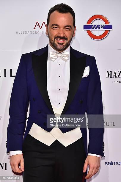 Alessandro Martorana attends Alessandro Martorana Birthday Party held at La Permanente on January 28 2016 in Milan Italy