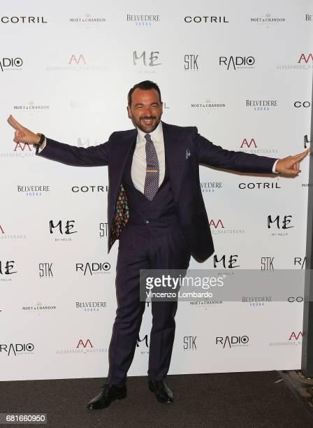 Alessandro Martorana attends Alessandro Martorana's 'Spring Party' on May 10 2017 in Milan Italy