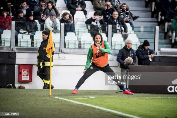 Alessandro Matri during the Seria A Football match Juventus FC vs Sassuolo Juventus won 40 in Turin Allianz Stadium