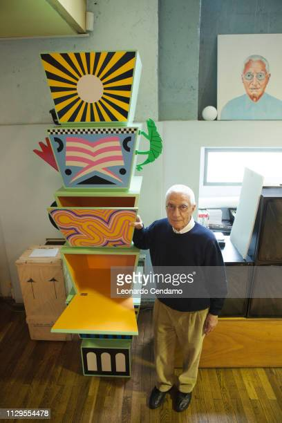 Alessandro Mendini Percoto Italy 24th September 2014
