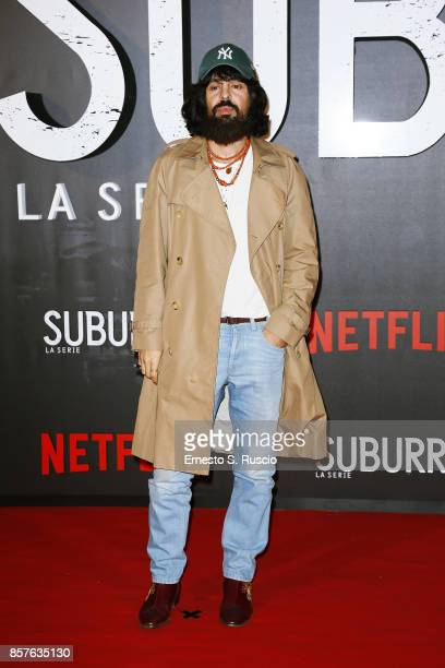 Alessandro Michele attends Netflix's Suburra The Series Premiere at The Space Moderno on October 4 2017 in Rome Italy