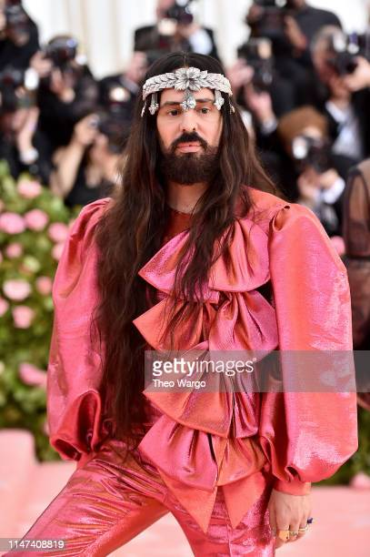 Alessandro Michele attends The 2019 Met Gala Celebrating Camp Notes on Fashion at Metropolitan Museum of Art on May 06 2019 in New York City