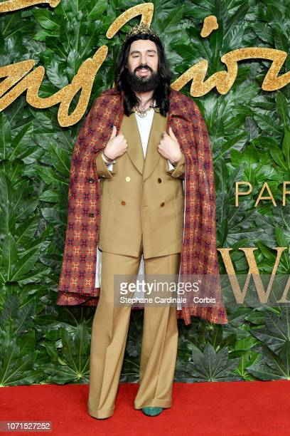 Alessandro Michele attends the Fashion Awards 2018 in partnership with Swarovski at Royal Albert Hall on December 10 2018 in London England