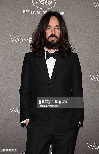 Alessandro Michele attends the Kering Official Cannes Dinner at Place de la Castre on May 17 2015 in Cannes France