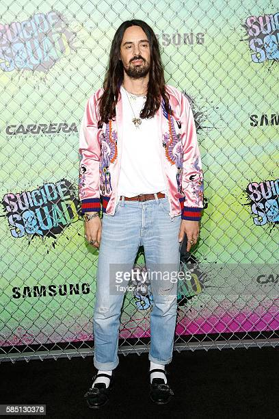 Alessandro Michele attends the world premiere of 'Suicide Squad' at The Beacon Theatre on August 1 2016 in New York City