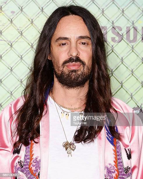 Alessandro Michele attends the world premiere of Suicide Squad at The Beacon Theatre on August 1 2016 in New York City