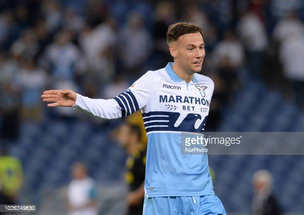 Alessandro Murgia during the Italian Serie A football match between SS Lazio and Frosinone at the Olympic Stadium in Rome on september 02 2018