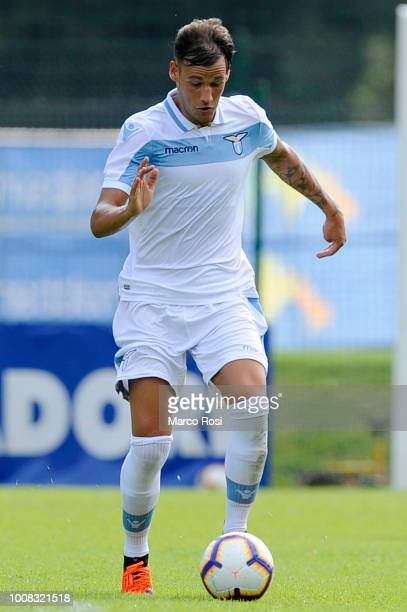 Alessandro Murgia of SS Lazio during the preseason friendly match between SS Lazio and Triestina on July 25 2018 in Auronzo di Cadore nearBelluno...