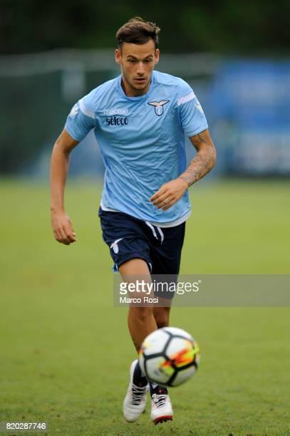 Alessandro Murgia of SS Lazio during the SS Lazio PreSeason Training Camp on July 21 2017 in Pieve di Cadore Italy