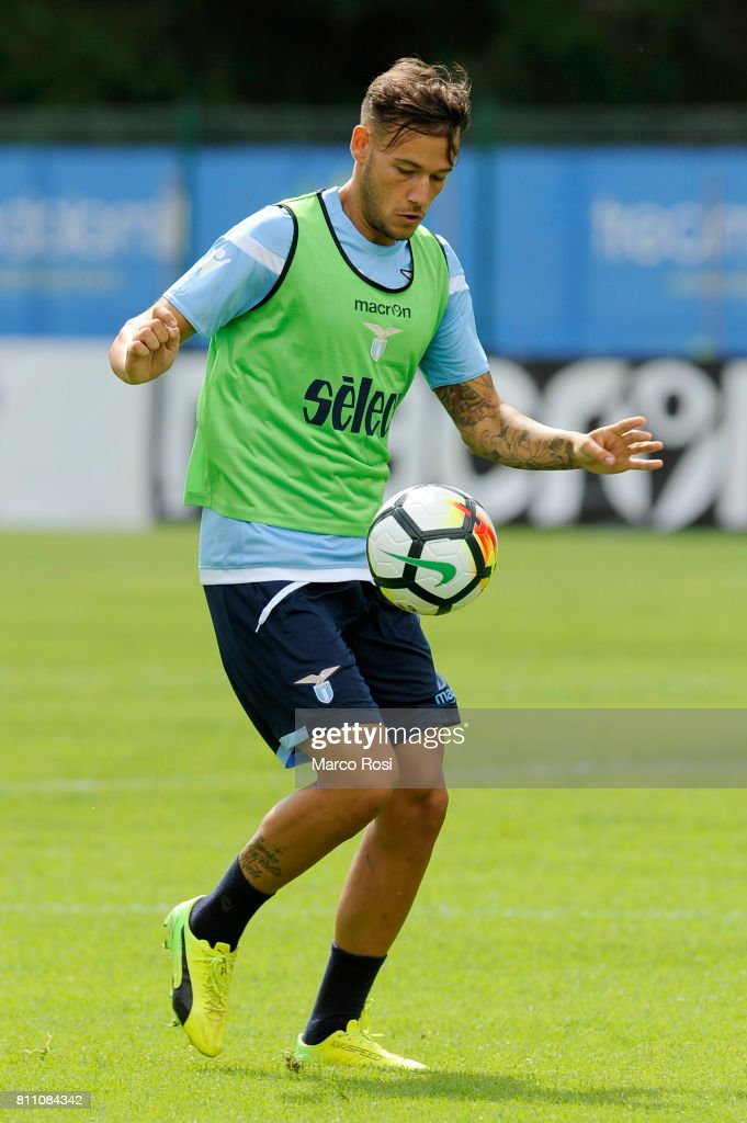 Alessandro Murgia of SS Lazio during the SS Lazio Training Camp - Day 1 on July 9, 2017 in Rome, Italy.