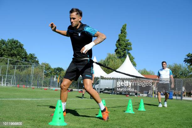 Alessandro Murgia of SS Lazio during the SS Lazio training session on August 6 2018 in Marienfeld Germany