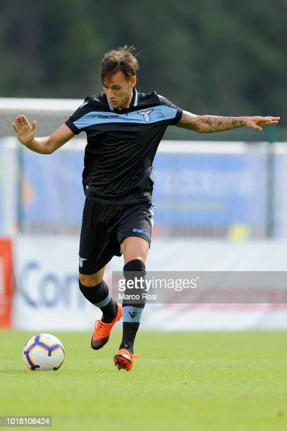 Alessandro Murgia of SS Lazio in action during the preseason friendly match between SS Lazio and Spal on July 28 2018 in Auronzo di Cadore...
